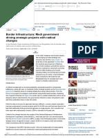 Border Infrastructure- Economic Times