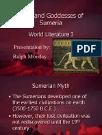 Dioses y Diosas Sumerias