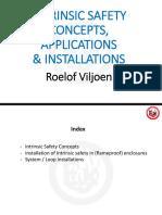 Intrinsic Safety Concepts, Applications & Installations - Roelof Viljoen