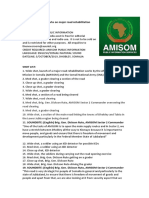 AMISOM Embarks on Major Road Rehabilitation Works in Dhobley