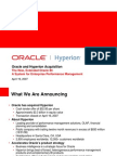 Oracle Hyperion General Presentation