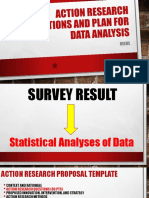 Action Research Question and Quantitative Plan of Data Analysis_GARCIA