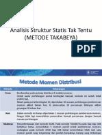 9_10 - Metode Takabeya (Pendahuluan Dan Analisis Struktur Portal Tetap)