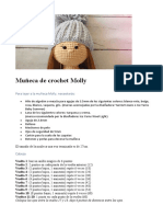 Muñeca de crochet Molly