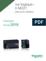 Schneider electric tm221me16rg contr/ôleur M221/16/e//s relais Ethernet Ressort