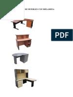 Fabricacion de Muebles Con Melamine