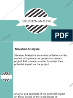 PPT SituationAnalysis