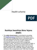 Health Scheme in India