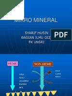 mikro mineral