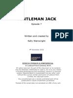 Gentleman Jack Ep7 Shooting Script