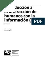 Introducción a la interacción de los humanos con la información
