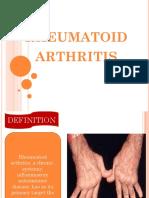 225718 354567532 Rheumatoid Arthritis