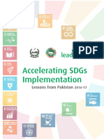 Accelerating SDGs Implementation - Lessons From Pakistan 2016-17