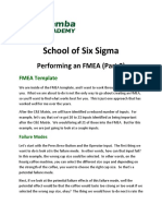 Performing an FMEA (Part 2)