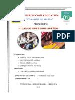 Proyecto Emprendedor Ept 209 Chuquibamba