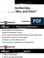 Shrivastava DevSecOps What Why and How