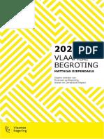 Begrotingscijfers Vlaamse regering 7 oktober 2019