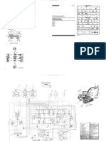 Schematic caterpillar 312c excavator hydraulic system