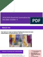 yoon yiwha - 2019 2020 g8 visual arts summative assessment q1