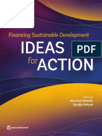 Financing Sustainable Development Ideas for Action