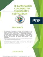 Plan de Capacitacion de La Empresa Cootranscar