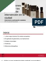12. Las Relaciones Sociales y Los Procesos de Intervención en La Ciudad, Gobernanza y Participación.pd