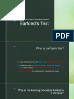 Barfoed&Seliwanoff'Stest