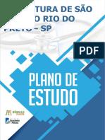 PLANO DE ESTUDO CONCURSO DE SÃO JOSE DO RIO PRETO