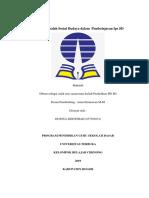 Isu Dan Masalah Sosial Budaya Dalam Pembelajaran IPS SD