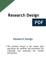 1st ModuleBRM Research Design Final