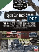 Price Guide quadricycle
