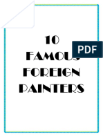 10 Famous Foreign Painters 03