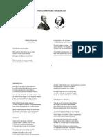 Poemas. Shakespeare y Ronsard