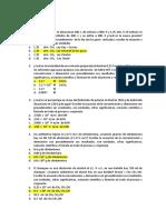 Evaluación 10 Q II TA