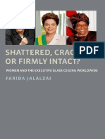 Shattered, Cracked, Or Firmly Intact? Women and the Executive Glass Ceiling Worldwide