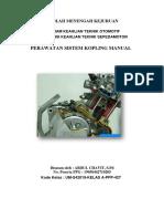 Bahan Ajar Sistem Kopling Manual TBSM