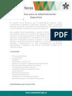 Elementos Administracion Deportiva