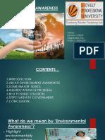Environmental Awareness1