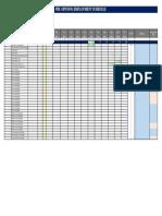Employment Schedule Hotel