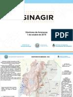Sinagir Monitoreo de Amenazas 1 de Octubre de 2019