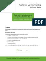 Customer Service Vision Facilitator Guide