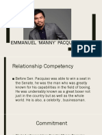 Biography of Manny Pacquiao