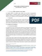 La Opinión Pública en España - El feminismo