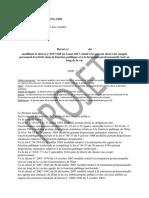 Projet de décret relatif à la mise en oeuvre du compte personnel d'activité dans la fonction publique et à la formation professionnelle tout au long de la vie