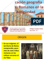 Presentacion ubicacion geografica romanos