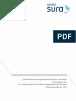 Grupo Sura Estados Financieros Separados 2018 2t