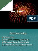 wwi effectspowerpoint