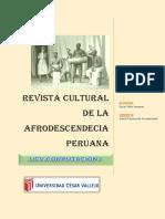Revista cultural de la afrodescencia peruana
