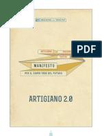 Artigiano Prossimo Venturo - Manifesto Per Il Saper Fare Del Futuro (6 Maggio 2015)