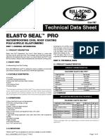 Elasto-seal-pro Bullbond Tds 2017r